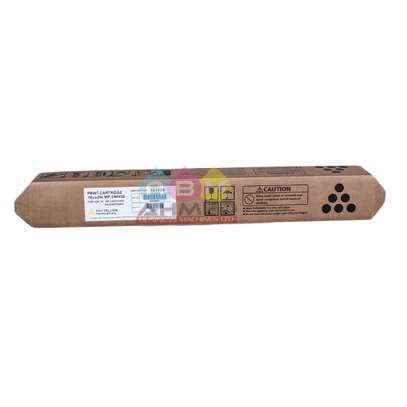Ricoh Yellow Color Toner MPC6003 for use in MPC3003, MPC3503, MPC6003