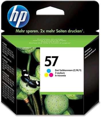 57 inkjet cartridge tri-colour C6657AE refills image 5