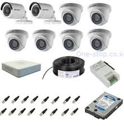 8 CCTV CAMERA COMPLETE PACKAGE image 2