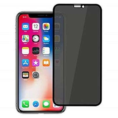 5D Full Glue Anti-spy Privacy Screen Protector For iPhone X Xs XR XS Max image 1
