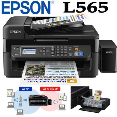 EPSON L565 WIRELESS 3 IN 1 PRINTER