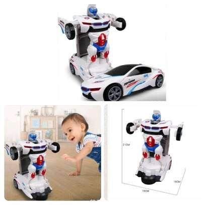 Kids transformer Robot cars image 1