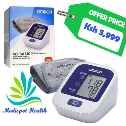 Omron M2 blood pressure monitor image 2