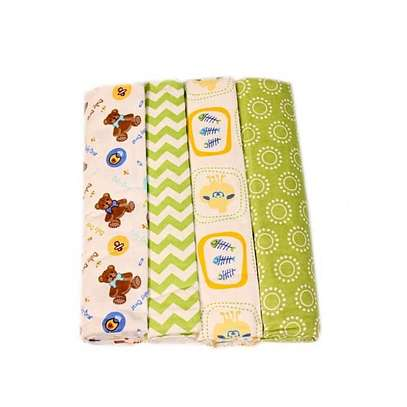Cotton Flannel Receiving Blankets(set of 4) image 1