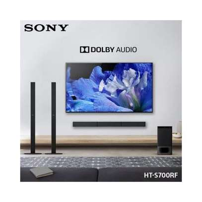 Sony 1000W SOUNDBAR, TALL BOY SPEAKERS, HT-700RF image 1