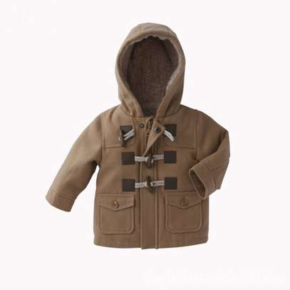 Generic Winter European Style Horn Button Warm Coats