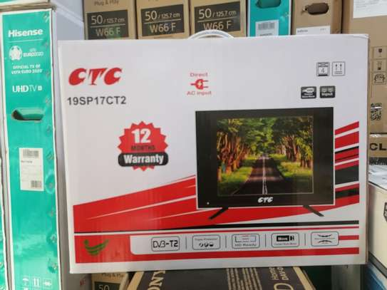 CTC 19 INCHES DIGITAL LED TV ON OFFER image 1