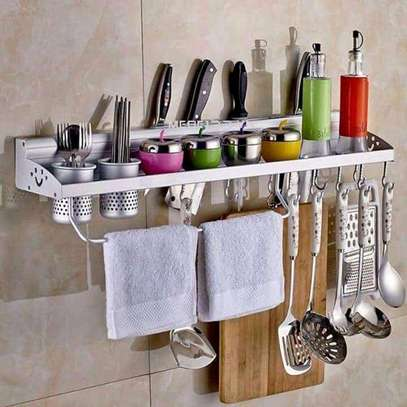 Stainless Kitchen Organizer Rack image 1