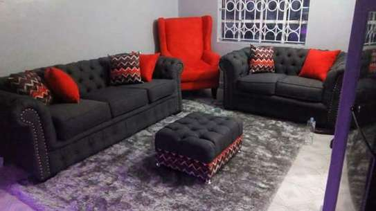 Chesterfield Sofa (7 Seater) image 1