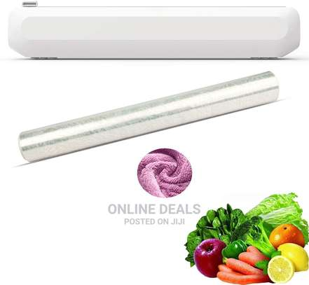 Kitchen Cling Foil/Film Food Wrap Cutter Dispenser image 2