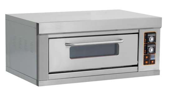 Single deck double tray electric Oven