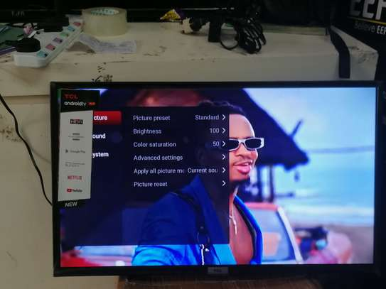 32 inch tcl smart android led TV image 1