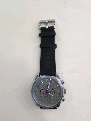 Executive quality watch black image 1