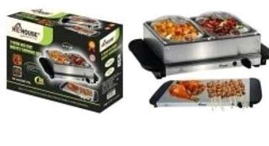 Electric chaffing dish/Electric cheffing dish/electric food warmer image 1