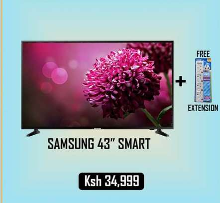 43 inch samsung Smart  HD LED image 1