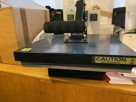 Sublimation Heat Press Flatbed Machine image 1