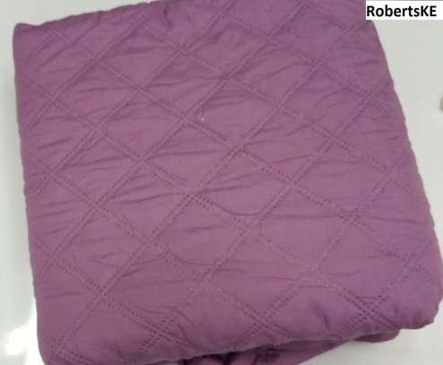 dark purple quilted waterproof mattress protector 4by6 image 1
