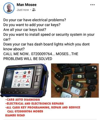 Auto diagnosis electrical and electronics repairs image 1
