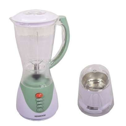 Elegant Blender with Grinder - 1.5 Litres - White & Light Green