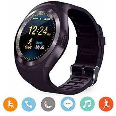 Bluetooth smart watch compatible with both android and ios