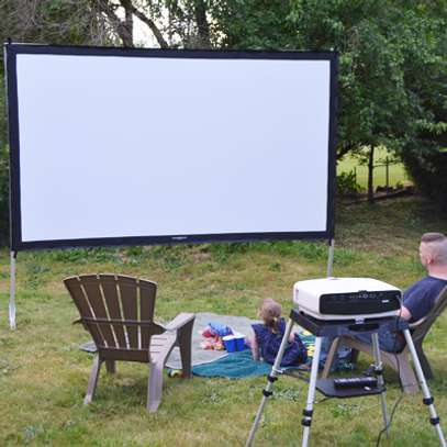 Projectors & Projection Screens for Hire image 1