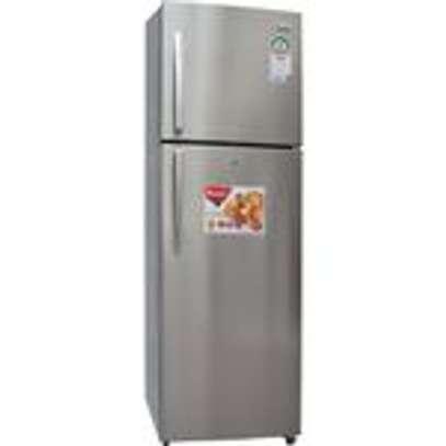 Ramtons RF/293 - Double Door No Frost Refrigerator - 344L - Silver image 1