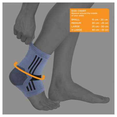 Kedley ACTIVE ELASTICATED ANKLE SUPPORT- EXTRA LARGE image 2