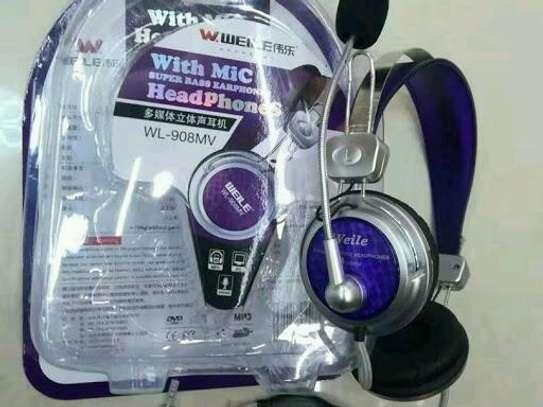 Brand new Headphones with Mic image 1