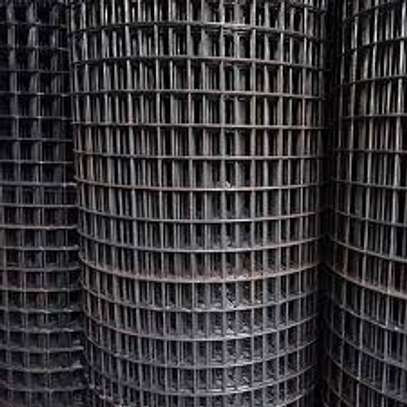 Steel mesh B.R.C. Type A 142, 48 m length, Hole size 200 by 200.