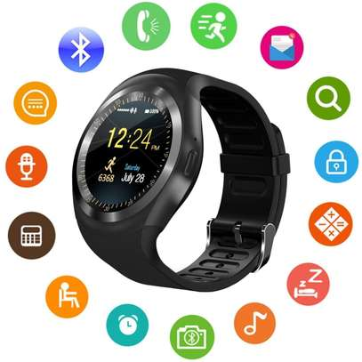 Y1 smart watch with mpesa tool kit