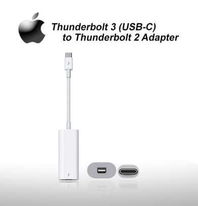 Thunderbolt 3 (USB-C) to Thunderbolt 2 Adapter. image 1