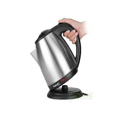 Cordless Electric Kettle – 2Litres – Silver image 1