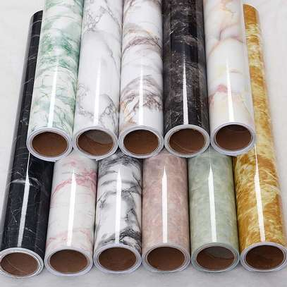 Generic adhesive marble contact paper image 2