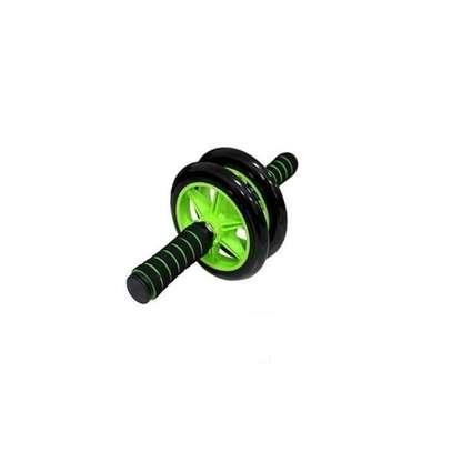 Generic Rubber Roller (Double Wheel) - Black image 1