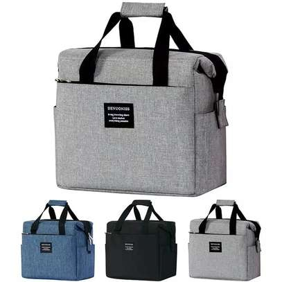Large Capacity Insulated Lunch Bags image 1