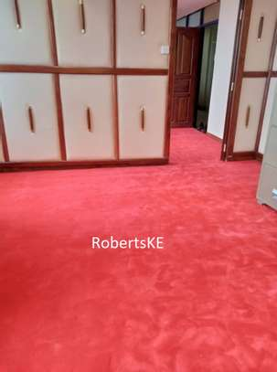 Office Interior VIP/Executive wall to wall red carpet image 2