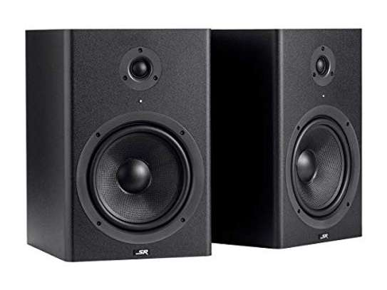 Monoprice Stage Right 8-inch Powered Studio Multimedia Monitor Speakers (pair) - (605800) image 1