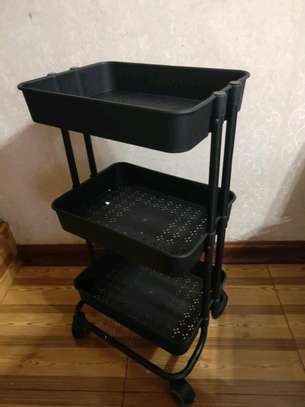 *QUALITY 3tier  movable Trolley image 3