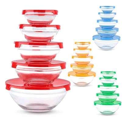 Glass Bowl ....5pcs image 1