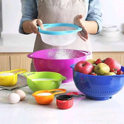 10pcs Mixing Bowl and Measuring cups image 3