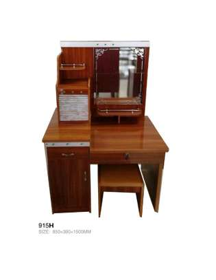 Multiple storage compartment dressing table image 1