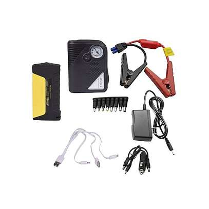 Portable Car Jump starter Kit with Tyre Infiltrator / Air Compressor image 2