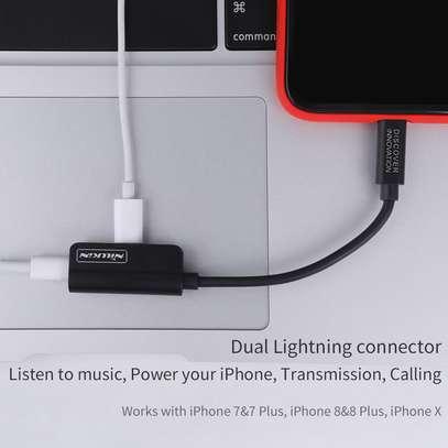Nillkin 2 in 1 lightning to Lightning+3.5mm adapter[RocketPower audio Lightning to Dual Lightning] image 8