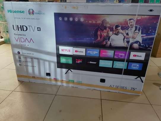 Hisense 75 inch smart 4k uhd led TV image 1