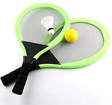badminton and tennis racket image 1