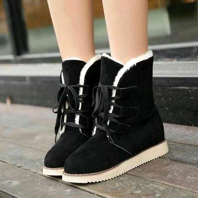 Ladies woolen ankle boots image 3