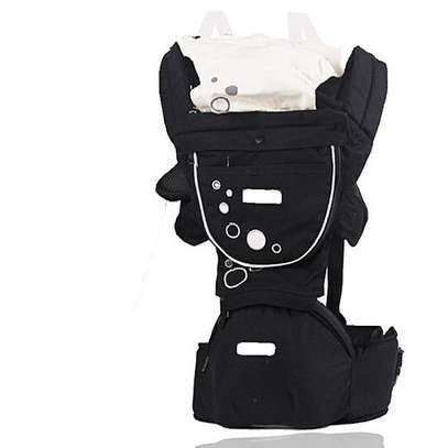 Hipseat Baby Carrier - Grey image 1