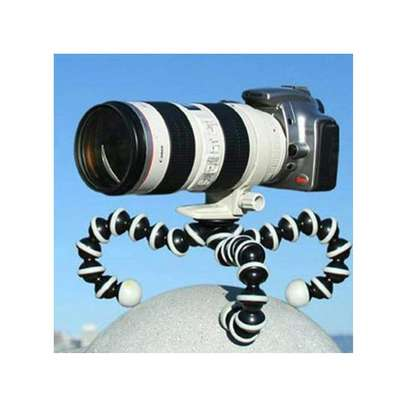 Octopus Tripod Flexible Bendable Tripod, Camera Tripod Octopus Camera Holder and Phone Tripod for Travel, Camping and Outdoor image 1