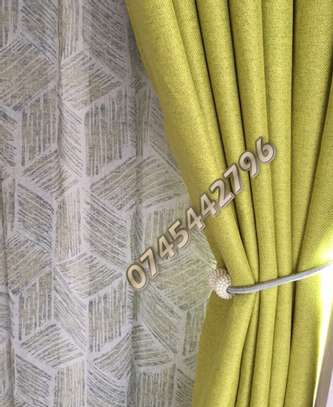 PLAIN SUPER QUALITY CURTAINS AND SHEERS image 11
