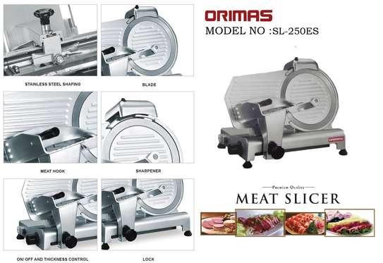 mini domestic semi-automatic 250es-10 meat slicer image 2